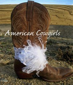 White Lace Cowgirl Boots Bracelet by AmericanCowgirls on Etsy, $14.99