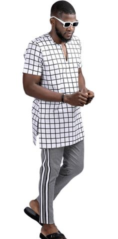 African Dresses Men, African Attire For Men, Nigerian Men Fashion, African Men Fashion, Boyfriend Stuff, Black Love Art, Boys Wear, Sherwani, Men's Fashion