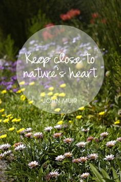 Nature is where healing happens. ♥