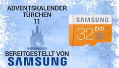 3 Samsung microSD EVO 32 GB Speicherkarten Gewinnspiel