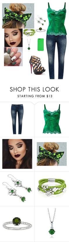 """Happy Early St. Patty's Day Everybody!!!!!"" by cherylkinberg97 ❤ liked on Polyvore featuring JunaRose, Dolce&Gabbana, Bling Jewelry, BERRICLE, C6, GREEN, st, Irish, drinking and partying"