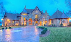 Grand French Country Estate House Plan - 93077EL | European, French Country, Traditional, Luxury, Photo Gallery, Premium Collection, 1st Floor Master Suite, Bonus Room, Butler Walk-in Pantry, CAD Available, Den-Office-Library-Study, In-Law Suite, Media-Game-Home Theater, Multi Stairs to 2nd Floor, PDF, Corner Lot | Architectural Designs