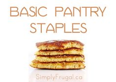If you're moving out and stocking your own kitchen for the first time, you really want to read this list of the basic pantry staples you'll likely need!