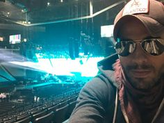 Enrique Iglesias sound check in Sacremento June 9, 2017 - wish I was working for him -Deborah Kay