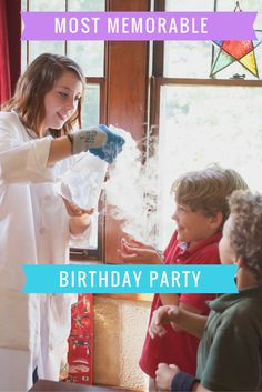 Science parties in Nashville and Baltimore. Perfect for preschool kids and elementary grade children.