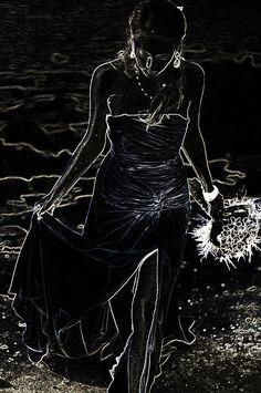 As Aphrodite Coming from Sea Foam. Black Art by Jenny Rainbow Texture Words, Multiple Exposure, Aphrodite, Sea Foam, Black Art, Fine Art Photography, Framed Prints, Rainbow, Artwork