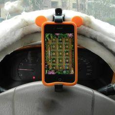 [$0.92] Multifunction Smart Phone Holder (Colour: Black)