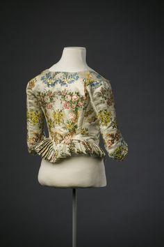ca1780 brocade caraco collection Modemuseum Hasselt