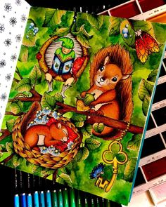 Adult Coloring, Coloring Books, Coloring Pages, Markova, Beautiful Fairies, Favorite Pastime, Whimsical Art, Cartoon Drawings, Enchanted