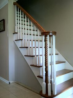 1000 Images About Stairs And Rails On Pinterest Hardwood Floors