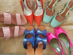 My summer colourful shoe collection 50 Fashion, Fashion Tips, Colorful Shoes, Other Woman, Shoe Collection, Stiletto Heels, Summer, Women, Fashion Hacks