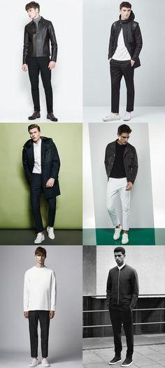 Men's Scandinavian Minimal and Monochrome Outfit Inspiration Lookbook