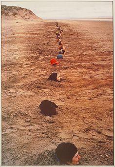 Keith Arnatt Liverpool Beach Burial 1968