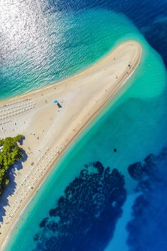 Sunbathe on Zlatni Rat Beach