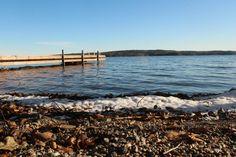 """Ranta ©Lauri: """"Kuva Päijänteen rannalta jäitten lähdön jälkeen."""""""