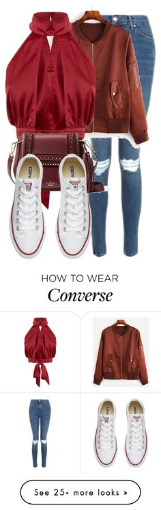 """""""Akira Kenjo-Cure Chocolat"""" by blueangel16-001 on Polyvore featuring Topshop, Kate Spade and Converse"""