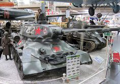 Soviet Forces T34 Panzer Tank