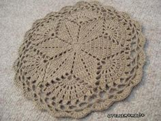 Big Star Doily pattern with diagram. Love!