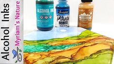 36]  ALCOHOL INK : Getting Started - INFO - DEMOS - How to Buy (Selectin...