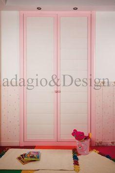 armario a medida 2 hojas abatibles modelo duelas rosas adagio&Design