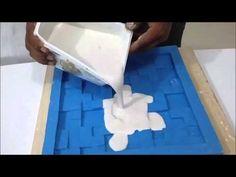 Como colocar placas de gesso 3d - Passo a passo/ how to put plaster board 3d step by step - YouTube