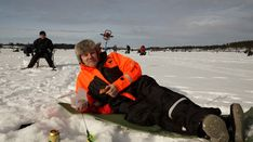 Pello is the fishing capital of Finland all year round: the numerous lakes of Pello (like Lake Miekojärvi) and the Tornio River offers great fishing Winter Fishing, Lapland Finland, Ice Fishing, Activities, Holiday, Travel, Vacations, Viajes, Traveling