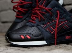 Ronnie Fieg x Asics Gel Lyte III Total Eclipse/Leather Toes