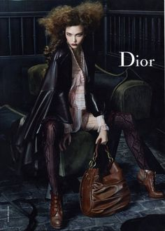 Dior. Christian Dior was a scorpio rising. They say that scorpio rising people tend to dress dark.