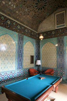 Wow! The Billard Room at The Fairmont San Francisco.  Fantastic