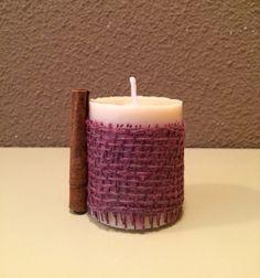 """Esenzials - """"Candle Collection"""" - Vela natural de canela"""