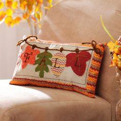 Autumn Leaves Pillow   Kirklands