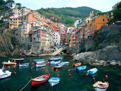 Parco Nazionale ecosostenibile   Liguria:Cinque Terre