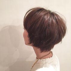 ☆short style☆ ボブの長さからスッキリ夏ショートに!! さらにシルキーベージュで軽やかさもプラス♪(´ε` )  #Agnos青山#表参道#青山#hair#nail#totalbeauty#ショート#short#ショートカット#shortcut#夏#summer#おかわ#カット#cut#ベージュ#beige#ヘアカラー#haircolor#シルキー#silky
