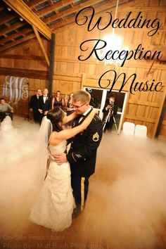 On-Site Wedding Receptions | Wedding Reception Music {with links to each song included!}