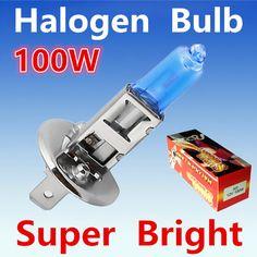 2 unids H1 100 W 12 V Bombilla Halógena Super Xenon Blanco Niebla luces de Alta Potencia de la Lámpara Del Faro Del Coche Del Coche aparcamiento Fuente de Luz 6000 K