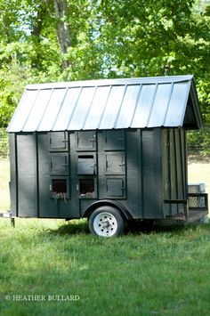 What a great idea! Portable chicken coop | The Gardens of Blackberry Farm