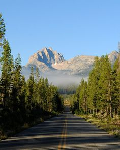 Mt Heyburn--one of the things you can see on a #RedfishLake Drive.   Visitidaho.org