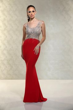 At Ariel Inspirations you can find this red hot dress with or with out sleeves.