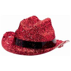 Glitter Red Mini Cowboy Hat | 1 ct