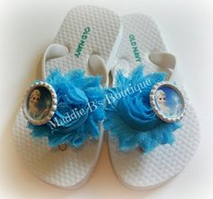 0e0da0c15f5fb New Toddler flip flopsShabby flower by MaddieBsBoutique on Etsy