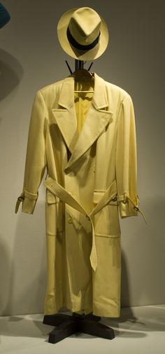"#Warren Beatty, ""#Dick Tracy,"" Touchtone Pictures, 1990, Designed by #Milena Canonero #The Collection of Motion Picture Costume Design: #Larry McQueen"