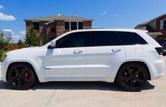 White Jeep Grand Cherokee, Jeep Grand Cherokee Limited, Jeep Cherokee, Cherokee Srt8, Srt8 Jeep, Mopar Jeep, My Dream Car, Dream Cars, Jeep Grand Cherokee Accessories