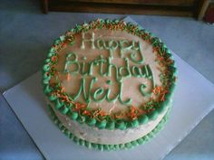 Happy B-day cake