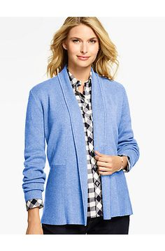 Milano No-Close Cardigan - Talbots