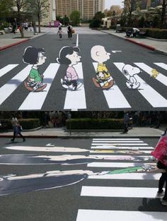 Street Art 3D drawing at Germany