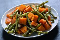 Gluten-free Roasted Butternut Squash & Green Beans