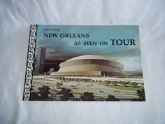 Vintage New Orleans As Seen on Tour Book 1970's