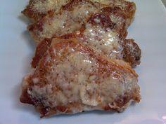 Michele's Woman Cave: Parmesan Pork Chops