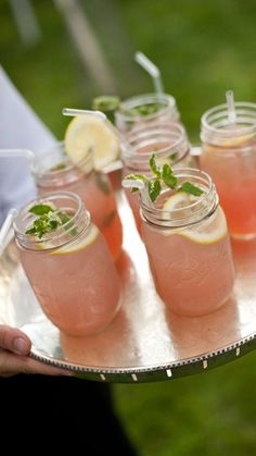 Cocktails Summer Wedding