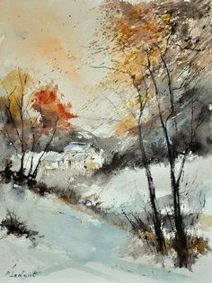 Watercolor 216061 Painting  - Watercolor 216061 Fine Art Print